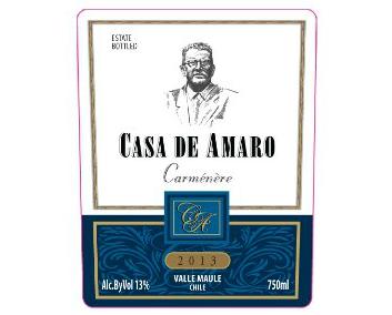 WINE CASA DE AMARO CARMENERE