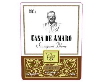 WINE CASA DE AMARO SAUVIGNON BLANC