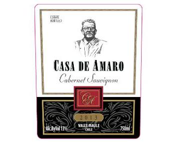 WINE CASA DE AMARO CABERNET SAUVIGNON 375ML