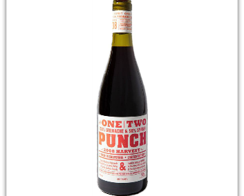 WINE SHIRAH ONE TWO PUNCH